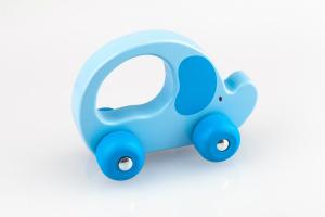 Greif-Elefant blau