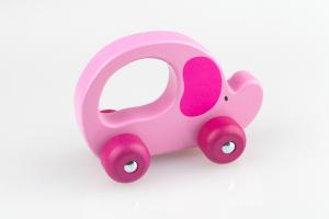 Greif-Elefant rosa