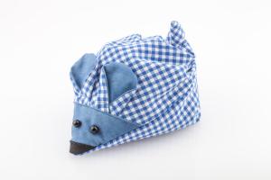 Kirschsteinmaus dunkelblau für Säuglinge mit Bauchschmerzen, Koliken oder Blähungen
