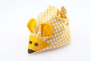 Kirschsteinmaus gelb für Säuglinge mit Bauchschmerzen, Koliken oder Blähungen