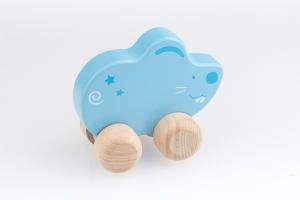 Schiebetier Maus blau