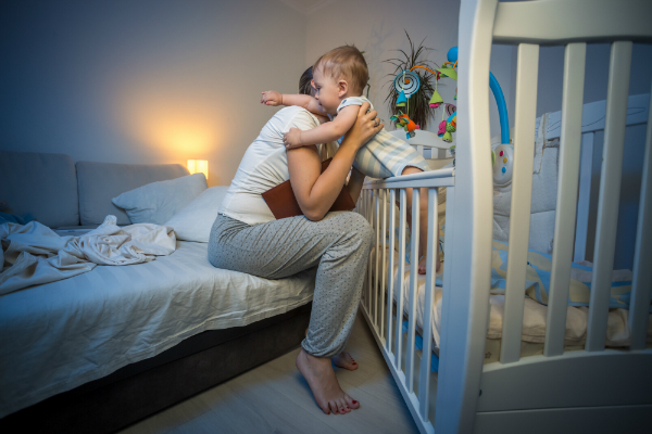 Baby muss Schlafrhythmus finden