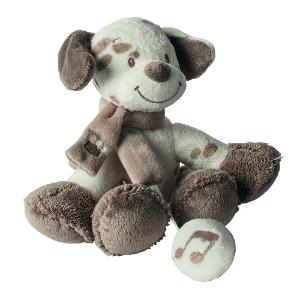 Nattou Mini-Spieluhr Hund braun