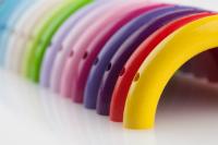 Abverkaufsartikel Halbringe 100mm in diversen Farben erhaeltlich
