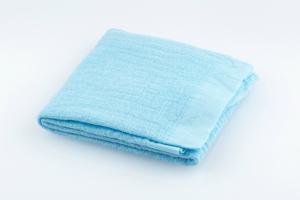 Baumwolltuch uni 60x60 pastellblau