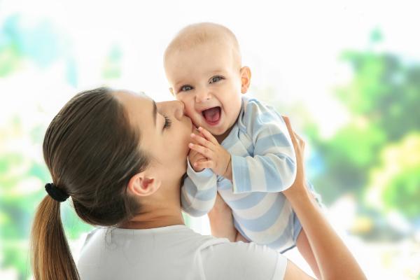 Das Baby nicht unbeaufsichtigt lassen