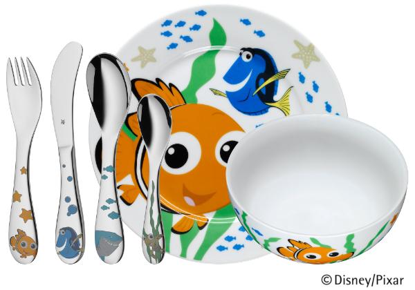 Kindergeschirrset Nemo
