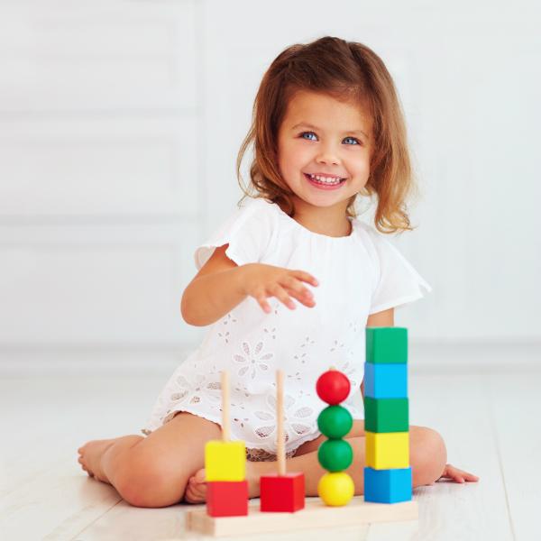 Lassen Sie Kinder ruhig alleine Spielen