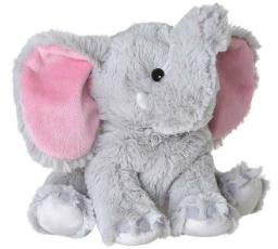 Waermestofftier mit Lavendel-Korn-Fuellung Elefant