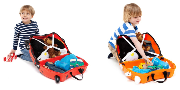 Trunki Koffer packen