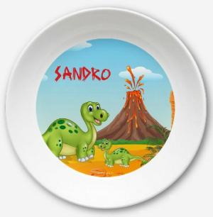 Kinderteller Dino