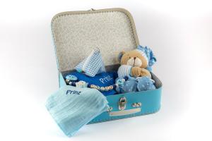 Geschenkkoffer Kapuzenbadetuch