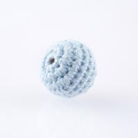 Haekelperlen babyblau