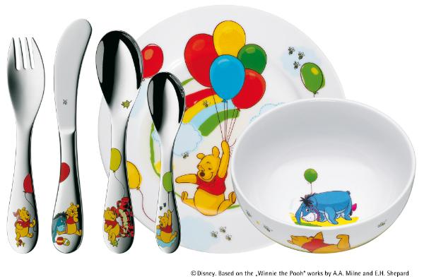 Kindergeschirrset Winnie the Pooh