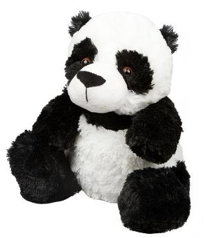 Wärmestofftier Pandabär