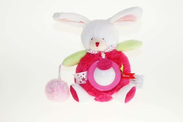 Nachtlicht Hase pink
