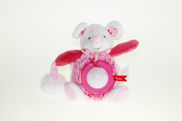 Nachtlicht Maus pink