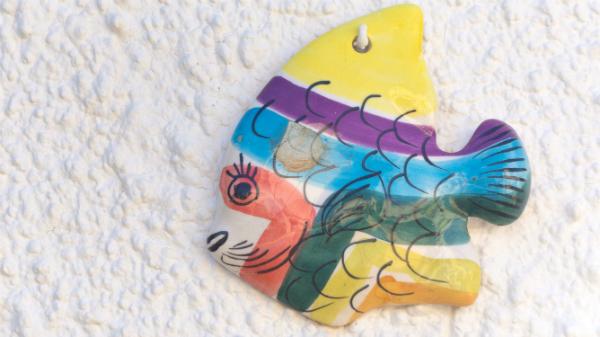Fische zum Aufhängen am Fenster oder an der Wand