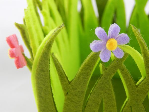 Blumen aus Stoff basteln