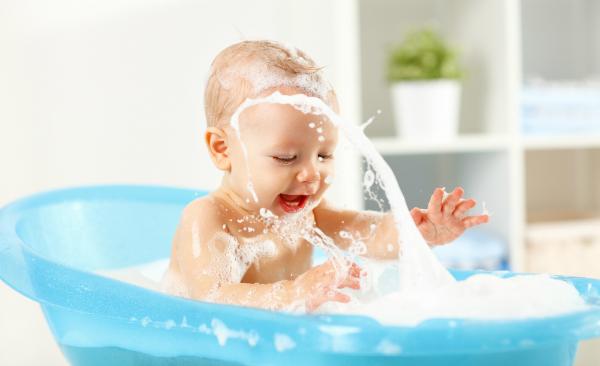 Baby badet