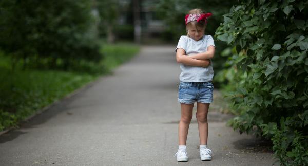 Die Trotzphase kann vom 3. bis zum 6. Lebensjahr dauern