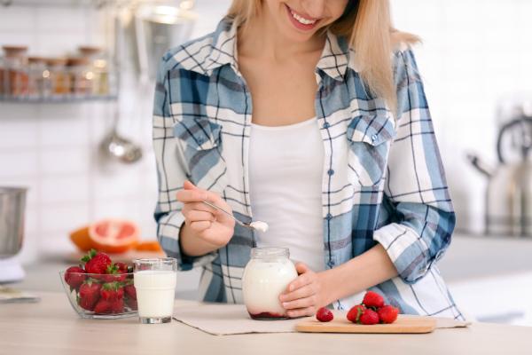 Joghurt mit Obst