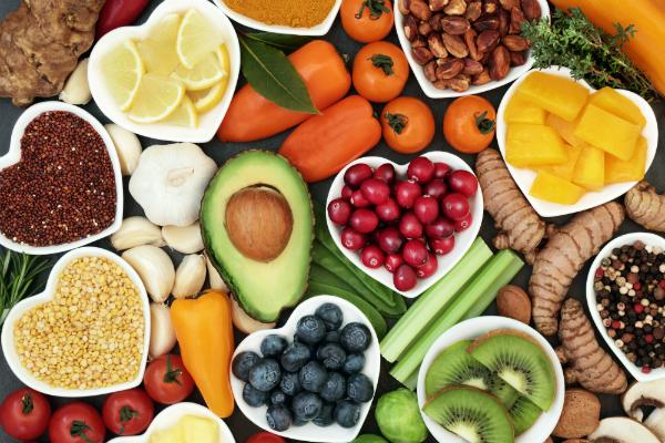 Vitamine in Obst und Gemuese