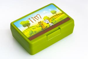 Brotbox mit Name lustige Freunde