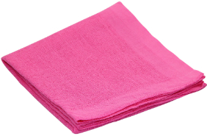 Nuscheli uni 60x60 pink