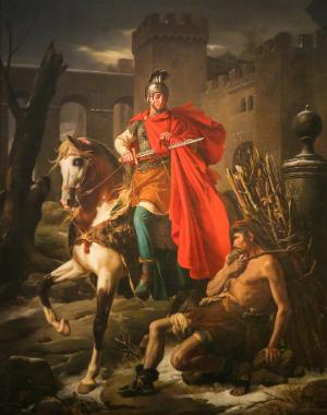 Der heilige Sankt Martin
