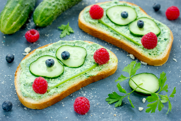 Gesunde Mittagessen ansprechend gestalten