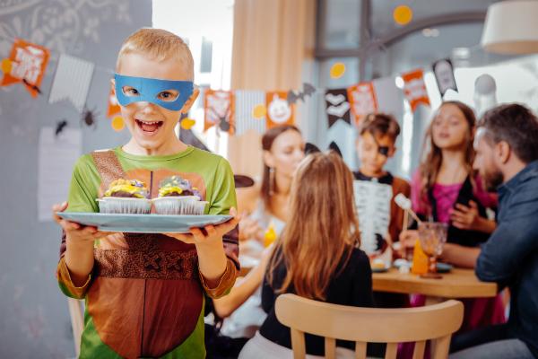 Halloween ist fuer Gross und Klein ein besonderes Fest