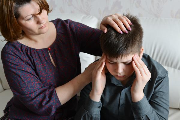 Seien SIe für Ihr Kind da - auch wenn Sie selbst Trauer leiden