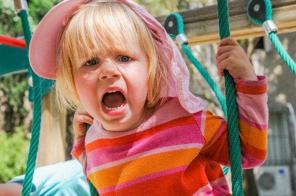 Trauer kann sich bei Kindern auch in Agression äussern