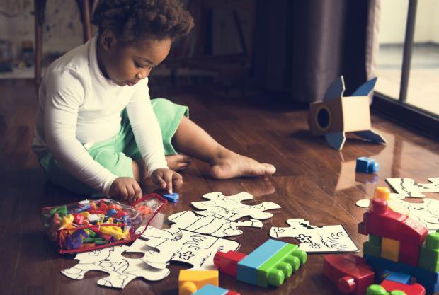 Grundschulkinder können sich zeitweilig auch gut selbst beschäftigen