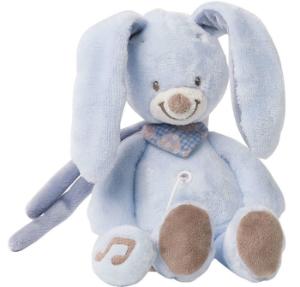NATTOU Mini-Spieluhr Kaninchen hellblau