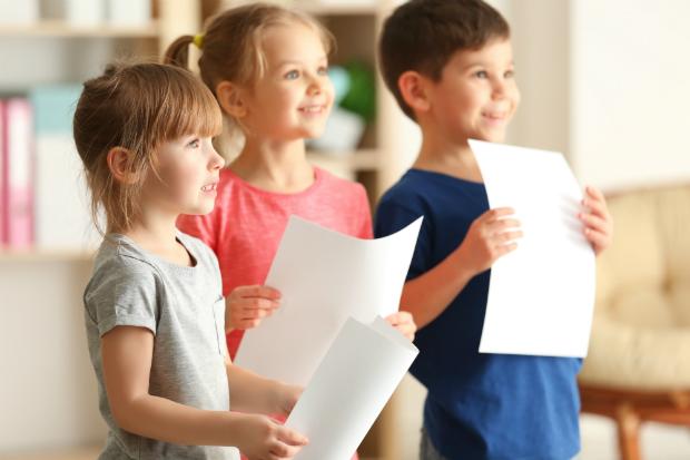 Kinderlieder und Reime fördern die Sprachentwicklung