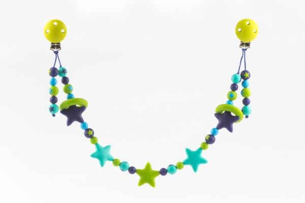 kinderwagenkette-silikon-tuerkis-gruen-blau
