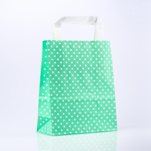 papiertasche-punkte-mint