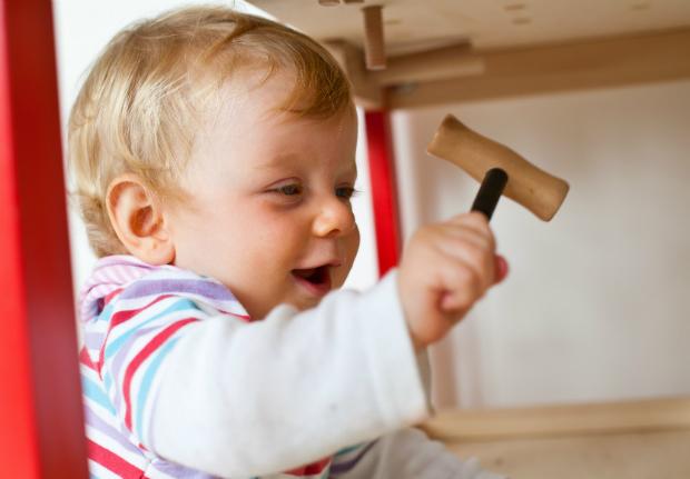 Haben Sie schon einmal Ihr Kind werkeln lassen?