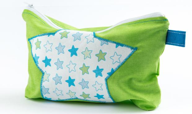 Windelbag Sterne grün