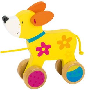 Ziehtier Hund, mit Name
