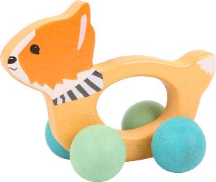 Kinderspielzeug Schiebetier Fuchs