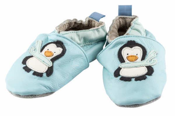 Lederfinkli 0-6 Mt. Pinguin pastellblau