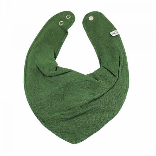 Pippi Halstuch uni dunkelgrün