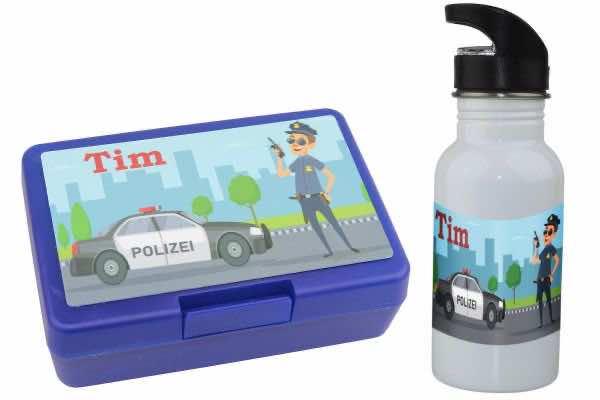 Kindergartenset Polizei