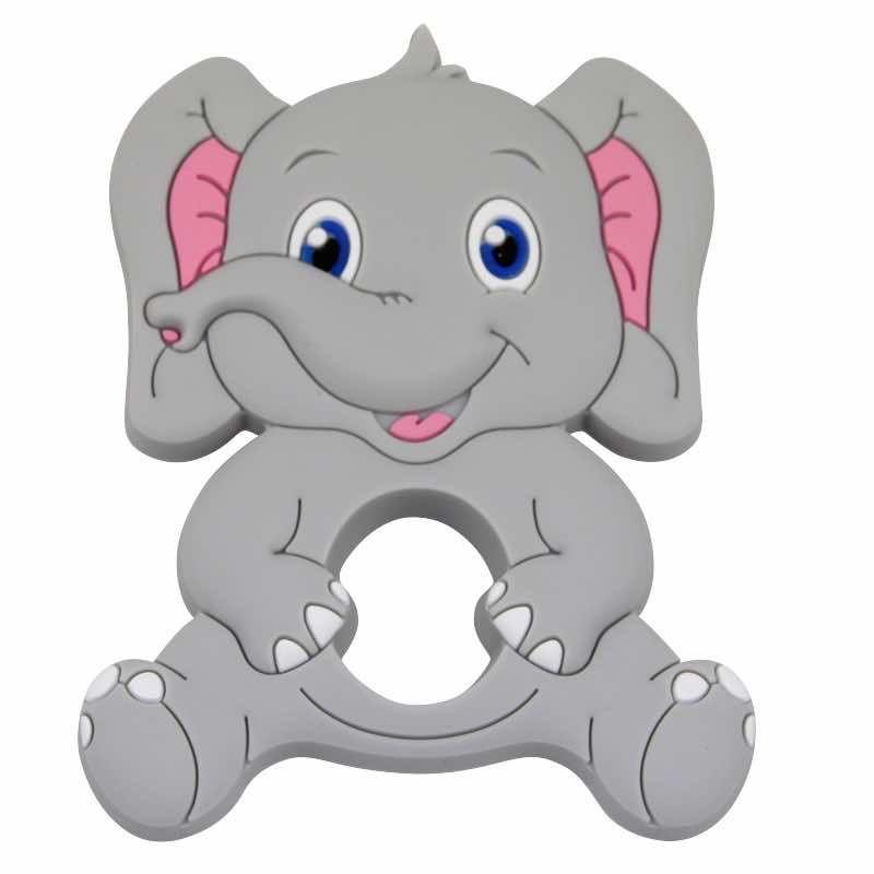 Beissanhänger Elefant