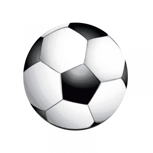 Aufkleber Fussball klein