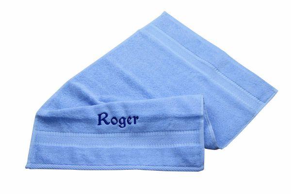 Handtuch bestickt mit Name