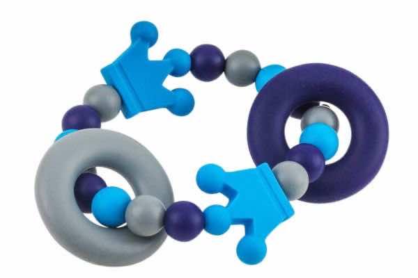 Beissgreifling Kronenduo grau:blau